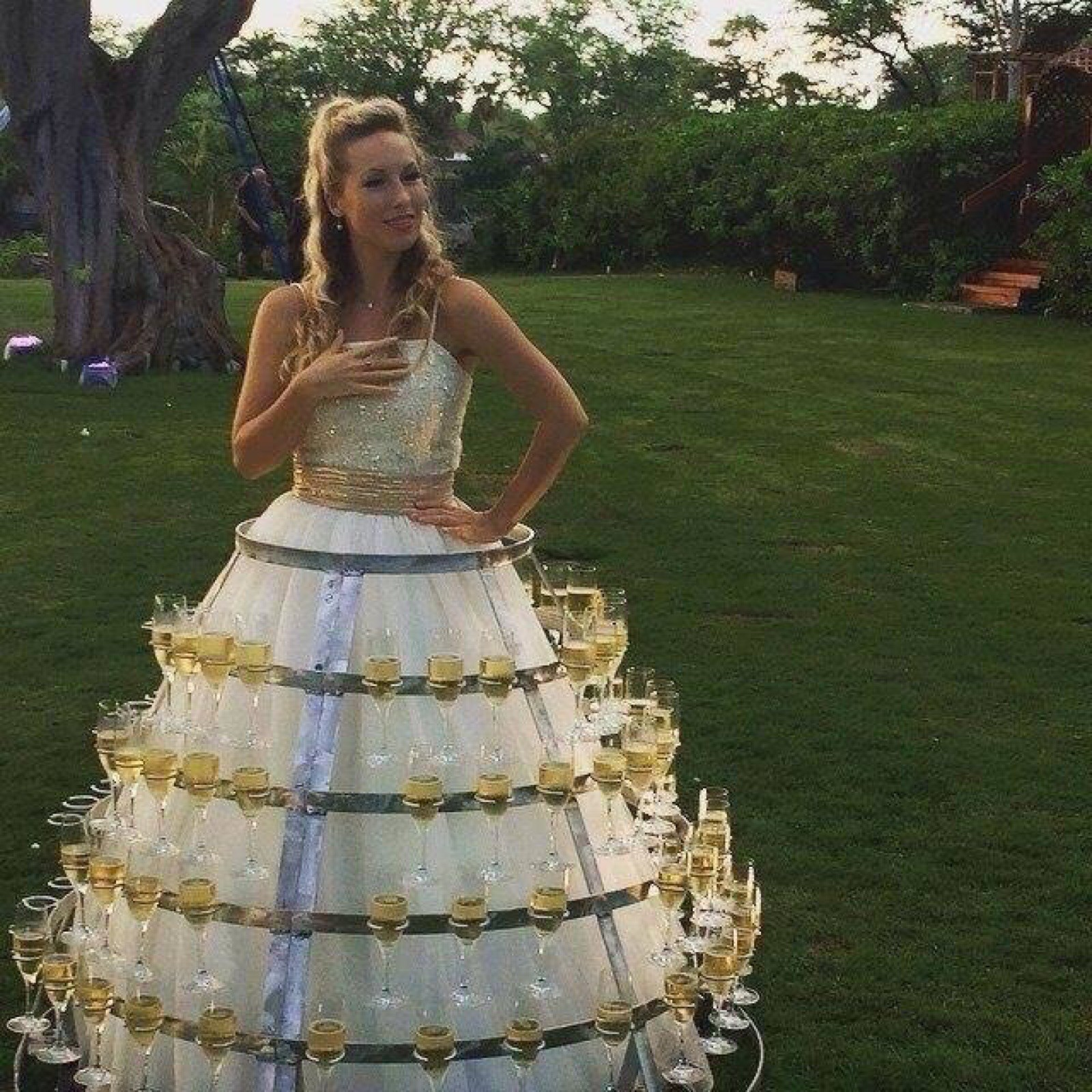 champagne-wedding-dress